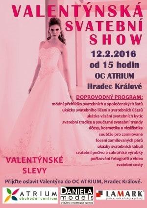 Valentýnská svatební show 12.2.2016
